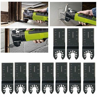 34mm oscillating Multi tool saw blades Carbon Steel Cutter DIY Universal 10 Pack