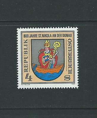 1981 AUSTRIA 800th Anniversary of St. Nikola on the Danube (Scott 1200) MNH