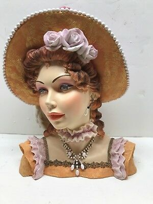 CAMEO GIRLS LARGE HEAD VASE in Orig BOX-JUDITH 1818 Perchance to  Dream- LOT J21