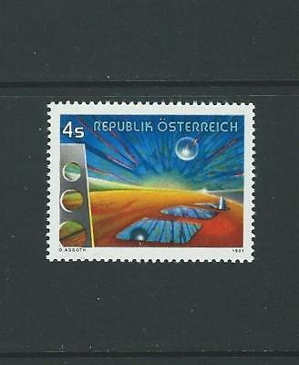 1981 AUSTRIA 'Between the Times' by Oscar Asboth (Scott 1194) MNH