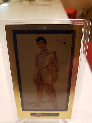 1994 Amerivox Elvis Presley Gold Phone Card