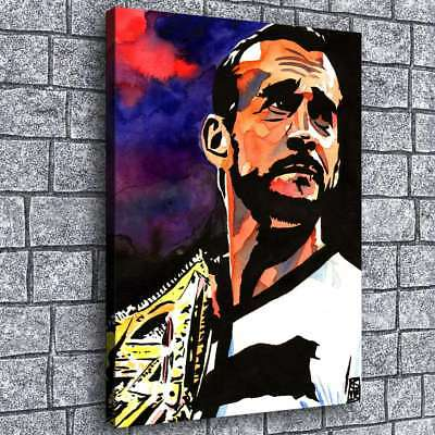 WWE Portrait Artist HD Canvas Prints Painting Home Room Decor Picture Wall Art