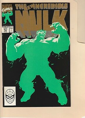 The Incredible Hulk #377! 1St And 2Nd Print!