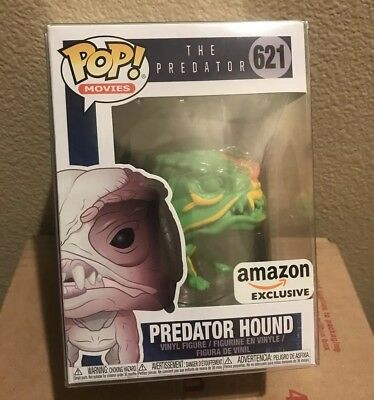 Funko Pop 621 Movies PREDATOR HOUND Heat Vision Amazon + Protector *SHIPS TODAY*