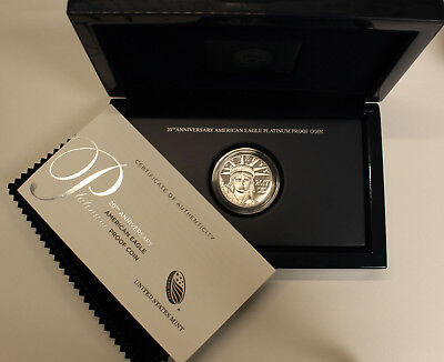 2017 Platinum Proof Eagle in original government packaging