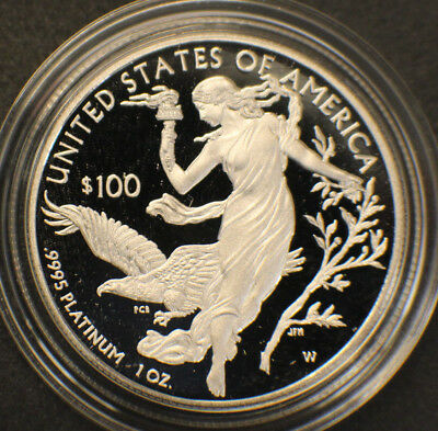 2016 Platinum Proof Eagle in original government packaging