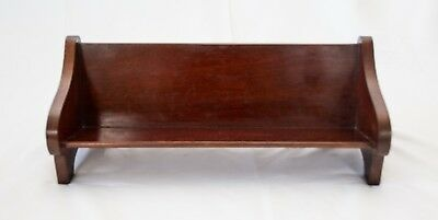 Antique English Mahogany Table Top Book Stand