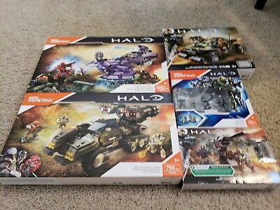 Halo Destiny Mega Bloks Construx Christmas Holiday Bundle lot