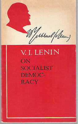 1970 V.i. Lenin On Socialist Democracy