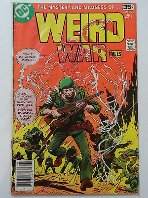 Weird War Tales #64 (DC Comics, 1978)  Frank Miller Art