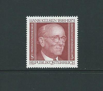 1981 AUSTRIA Birth Centennary of Hans Kelsen (Scott 1191) MNH