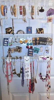Large Lot 74 Pcs Costume Jewelry Most New Some Vintage  Excellent Condition