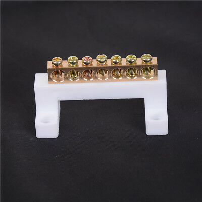 7 Positions Electric Cable Connector Screw Barrier Terminal Strip Bar CH
