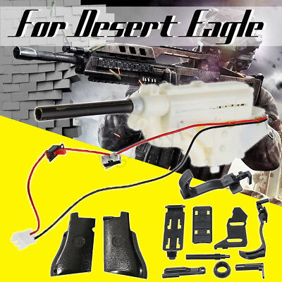 Upgrade Gearbox Trigger Grip Panels For RX617 Desert Eagle Gel Ball Blaster Toy