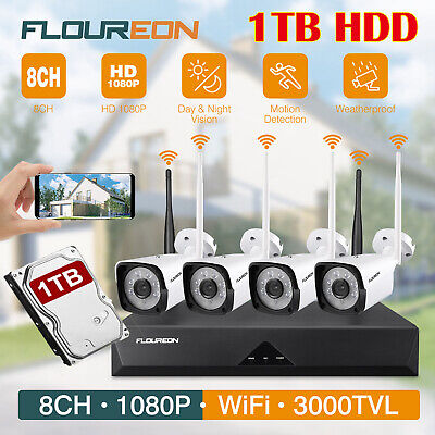 Sricam Wireless 1080P HD IP Network Camera Outdoor CCTV Security IR-cut Wifi Cam