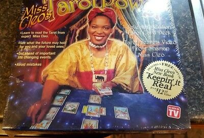 Miss Cleo Tarot New Sealed Tarot Deck Egyptian Theme Book Of Powers And Video