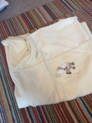 Mamas And Papas Zeddy And Parsnip Cot Bed Blanket