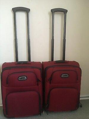 2 Carry On Luggage Suitcase