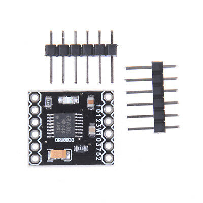 Drv8833 2 channel dc motor driver module board 1.5a for  UKCH