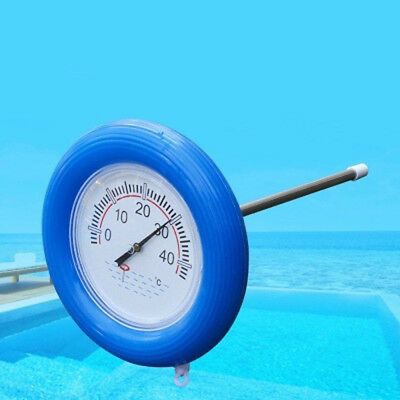 FLOATING POND THERMOMETER SWIMMING POOL MONITOR WATER TEMPERATURE Light Weight