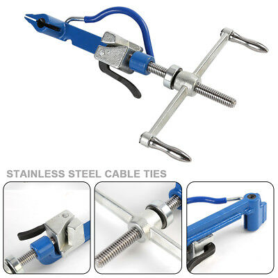 Manual Stainless Steel Band Strapping Plier Strapper Spin Banding Tight Plier US