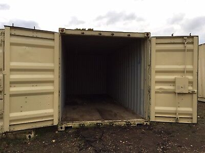 Storage Container 20ft x 8ft Anti Vandal Steel