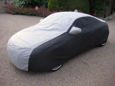 Any AUDI Outdoor Tailored, Breathable CUSTOM Car Cover - Black & Grey