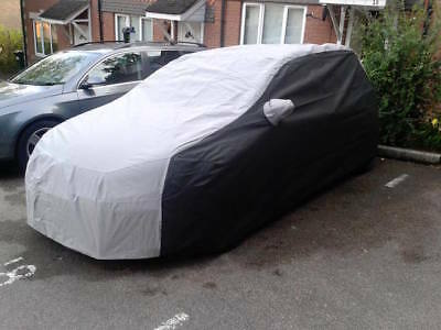 BMW 1 Series Hatch Outdoor Tailored, Breathable Car Cover -Black & Grey F20/F21