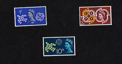GB QE II Stamps 1961 SG 626-628 CEPT Conference Set MNH