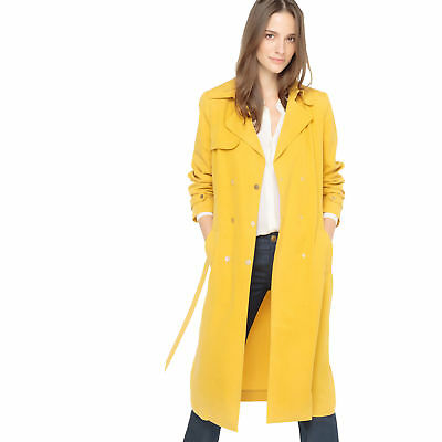 9c1acd1e682c AALTO X LA Redoute Womens Premium Long Cotton Trench Coat -  125.91 ...