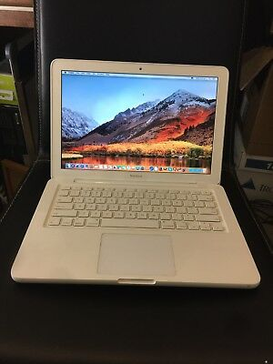 "APPLE MACBOOK 13"" A1342 C2D 2.4Ghz 5GB RAM 250GB HDD + magsafe power supply"