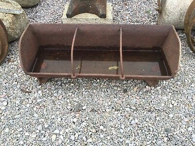 Cast Iron Pig Feeder (planter)