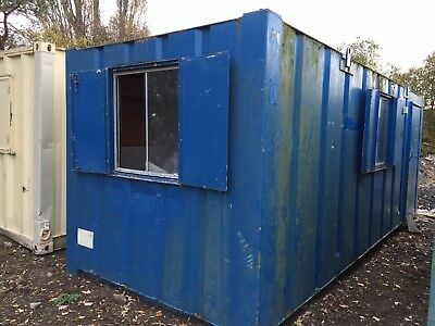 Office Site Cabin 20ft Anti Vandal Steel Portable Building