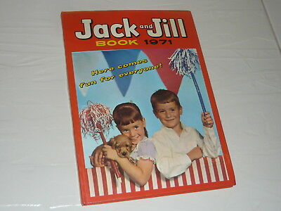 Annual Comic Book 1971 hardback Jack and Jill 96 pages adventure cartoon puzzle2