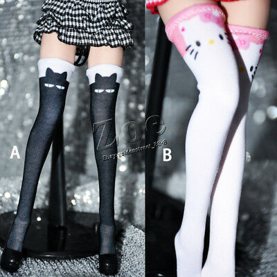 [NO STAIN] 1/6 scale TBLeague phicen Cat Stockings for  hottoys playtoys
