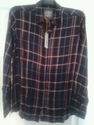 New Womens SUPERDRY Shirt  Large UK 14 in Alaska Ruby Check