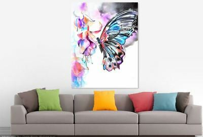 BUTTERFLY beautiful & colorful animals high quality Canvas painting  Home decor