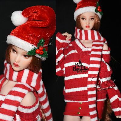 [NO STAIN] 1/6 scale TBLeague phicen Christmas Suit for JIAOU DOLL