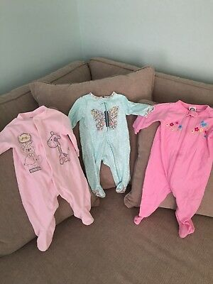 baby girl clothes 3-6 months lot