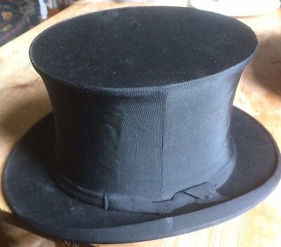 Vintage Battersby Collapsible Opera Top Hat, 1930s