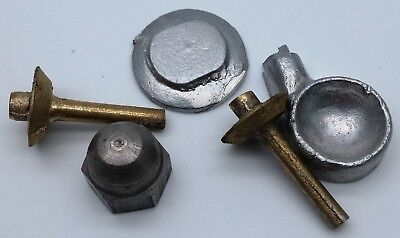 Feeney vintage model aircraft engine castings and drawings