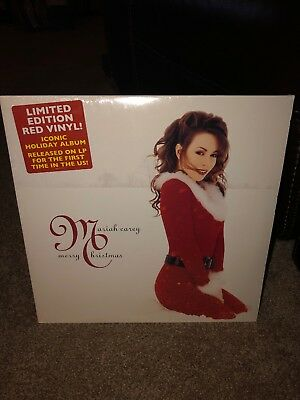 Mariah Carey - Merry Christmas RED COLORED Vinyl LP NEW & SEALED MINT CONDITION