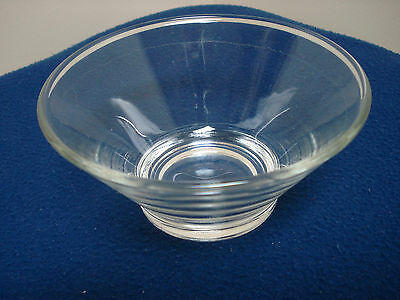 Small Clear Glass Serving Bowl