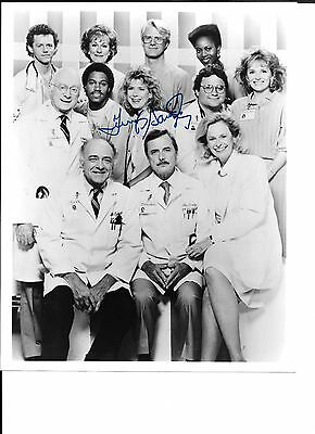 Jennifer Savidge 8x10 BW St Elsewhere cast photo signed / autographed in-person