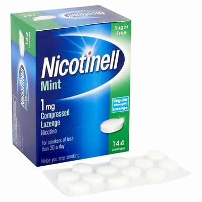 Nicotinell Mint (1mg) Compressed Lozenges (144) Sugar Free
