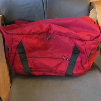 Karimor 60L Roll Bag Red used once excellent condition comes with combo lock