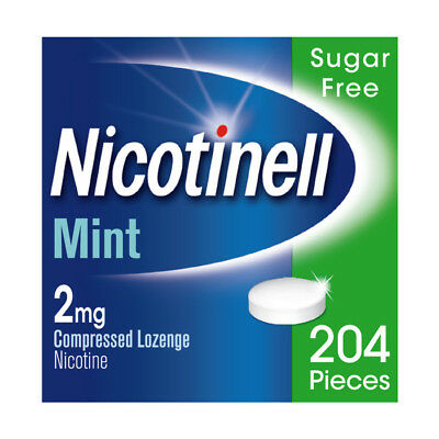 Nicotinell Mint (2mg) Compressed Lozenges (204) Sugar Free