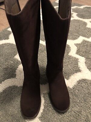 9be9b06c131 UGG 1005434 SELDON Brown Suede Knee High Boots Women's Size 7