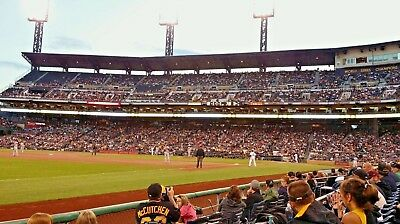 1-4 PITTSBURGH PIRATES 2019 HOME OPENER TICKETS 4/1/19 Sec 29 Row G v CARDINALS