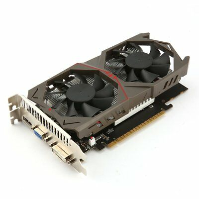 128Bit Graphics Card for GTX1050 GPU 2G GDDR5 Gaming Video Card with Dual Fan US